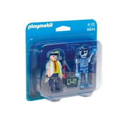Playmobil® 6844 - City Action - Inventeur et robot