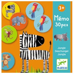 Mémo Jungle - Djeco DJ08159