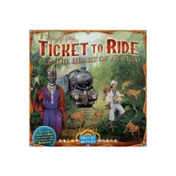 Ticket to Ride - Expansion: The Heart of Africa - Days of Wonder®