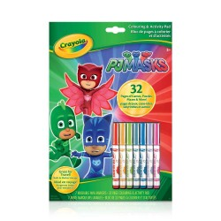 Crayola® 5886 - Colouring & Activity Book - PJ Masks