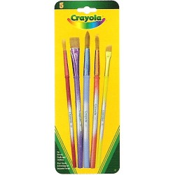 Crayola® 3506 - 5 Premium Brushes