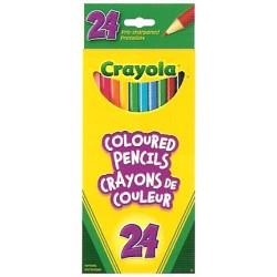 Crayola® 2024 - Ensemble de 24 crayons de couleur