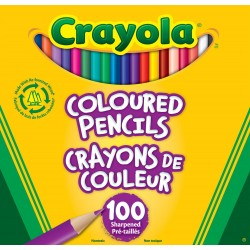 Crayola® 6100 - 100 Coloured Pencils