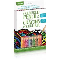 Crayola® 7105 - Ensemble de 36 crayons de couleurs