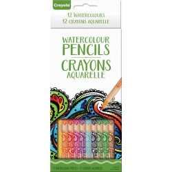 Crayola® 7106 - 12 Watercolour Pencils