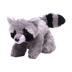 Wild Republic 16266 - Raccoon Stuffed Animal - 7""