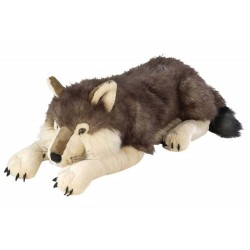 Wild Republic 82332 - Wolf Stuffed Animal Jumbo - 30""
