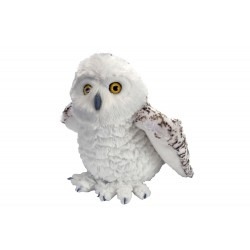 Wild Republic 10957 - Snowy Owl Stuffed Animal - 12""
