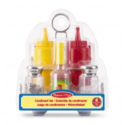 Melissa & Doug® 19358 - Ensemble de condiments