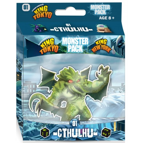 King of Tokyo - Extention: 01 Monster Pack Cthulhu - Iello™