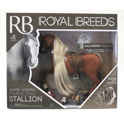 Lanard® 85002 - Royal Breeds® - Étalon - Palomino Walker