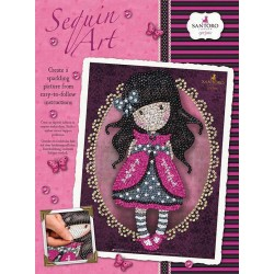 KSG - Sequin Art 1614 - Gorjuss Ladybird