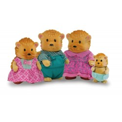 Li'l Woodzeez® 6002 - The Tippytails ™ Hedgehog Family