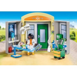 Playmobil 9110 - City Life - Coffret de l'hôpital
