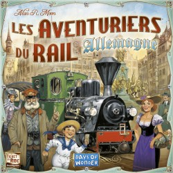 Les Aventuriers du Rail - Allemagne - Days of Wonder®