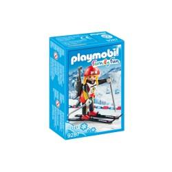 Playmobil 9287 - Family Fun - Biathlète