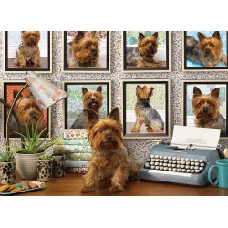 Cobble Hill 80038 - Puzzle 1000 pcs - Yorkies are my type