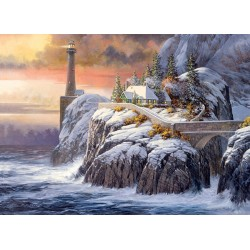 Cobble Hill 80026 - Casse-tête 1000 mcx - Winter Lighthouse