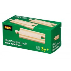 Brio 33334 - Short Straight Tracks