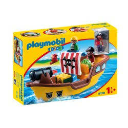 Playmobil® 9118 - Bâteau de pirates - 1.2.3