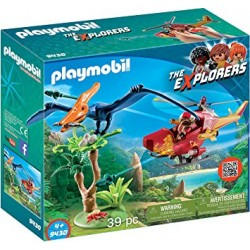 Playmobil 9430 - Adventure Copter with Pterodactyl