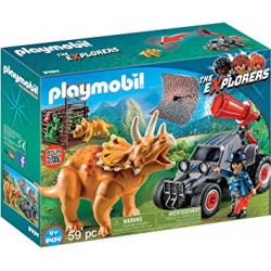 Playmobil 9434 - Enemy Quad with Triceratops