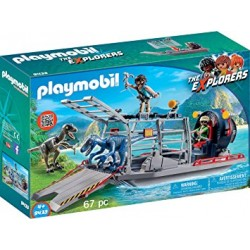 Playmobil 9433 - Enemy Airboat with Raptors
