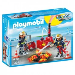 Playmobil 5397 - City Action - Firefighting Operation with Water Pump