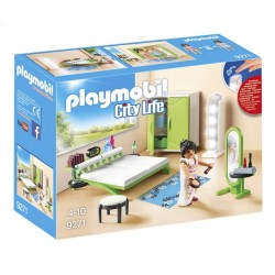 Playmobil 9271 - City Life - Chambre avec espace maquillage