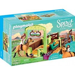Playmobil 9478 - Lucky et Spirit avec box - Spirit Riding Free