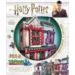 Wrebbit Puzzle 3D - 1010 - Diagon Alley - Harry Potter