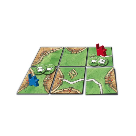 Carcassonne 3e - Extension: Princesse & Dragon