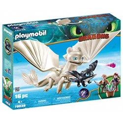 Playmobil 70037 - Dreamworks - Dragons - Hiccup and Toothless with Baby Dragon