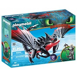 Playmobil 70038 - Dreamworks - Dragons - Light Fury with Baby Dragon and Children