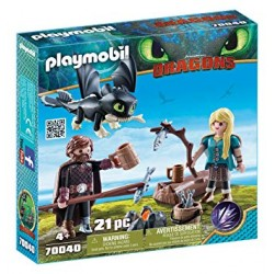 Playmobil 70039 - Dreamworks - Dragons - Deathgripper with Grimmel