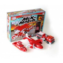 Mix Or Match - Vehicules - Fire & Rescue