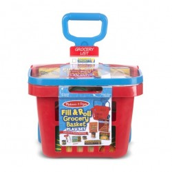 Melissa & Doug - Grocery Basket Play Set