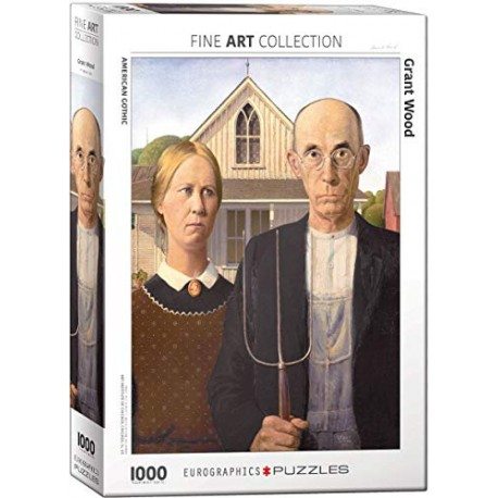 Eurographics - American Gothic by Grant Wood - 5479