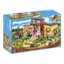Playmobil 9275 - City Life - Pension des animaux