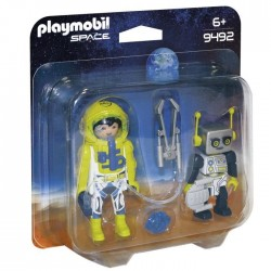 Playmobil 9492 - Astronaut and Robot Duo Pack