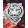 Diamond Dotz - White Tiger in Autumn
