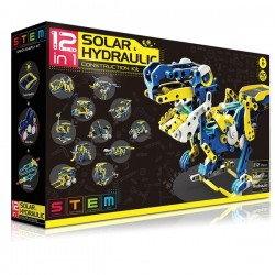12 in 1 Solar & Hydraulic Construction Kit