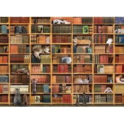 Cobble Hill 80216 - Casse-tête 1000 mcx - The Cat Library