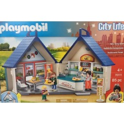 Playmobil 70111 - Restaurant transportable