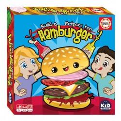 Prépare ton hamburger - Educa®