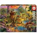 Paysage de dinosaures - Educa