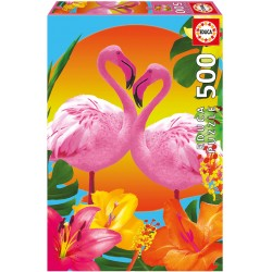 Flamants roses - Educa