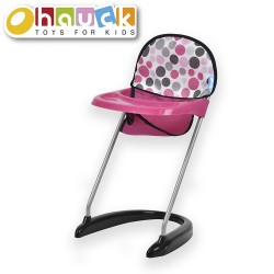 Dot Pink - Doll High Chair