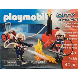 Playmobil 9468 - Firefighters with Water Pump