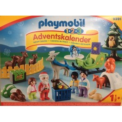 Playmobil 9391 - 1.2.3 Advent Calendar - Christmas in the Forest